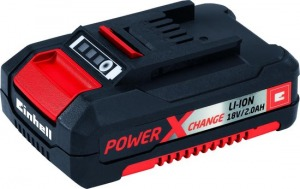 Einhell GE-CL 18 Li E KIT Batterij