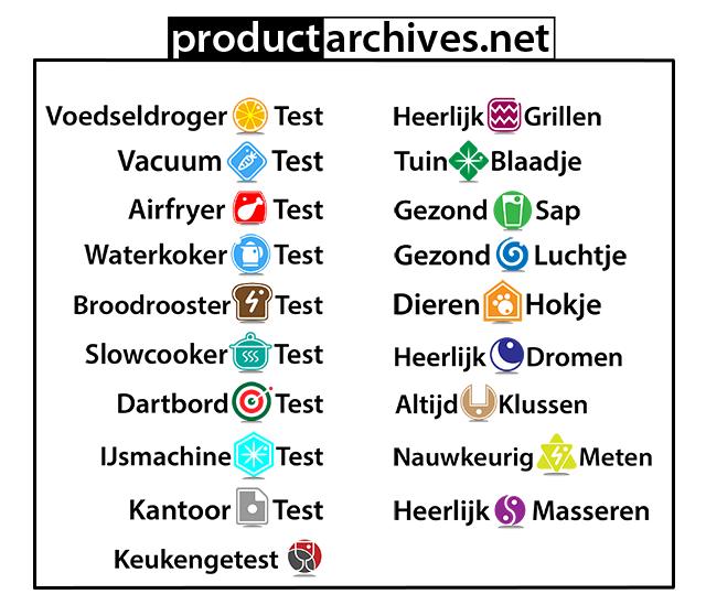 Productarchives Tuinblaadje